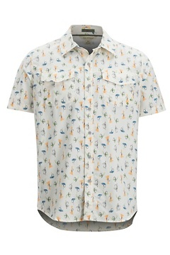Men's Estacado Short-Sleeve Shirt, Vellum Fly, medium