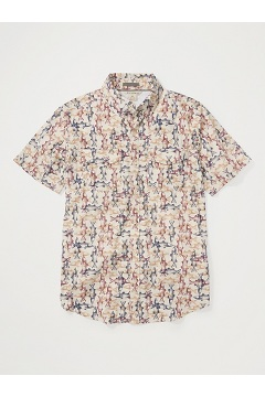 Men's Estacado Short-Sleeve Shirt, Bone Scale, medium
