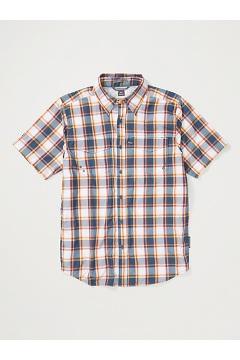 Men's Estacado Short-Sleeve Shirt, Admiral Blue, medium