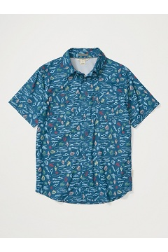 Men's Estacado Short-Sleeve Shirt, Galaxy Gear, medium