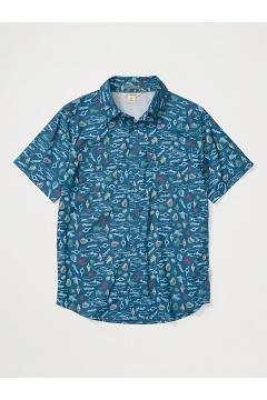 Men's Estacado Short-Sleeve Shirt, Galaxy Gear, medium