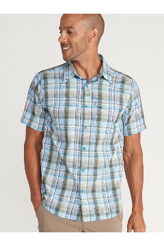 Men's Estacado Short-Sleeve Shirt, Clear Blue, medium