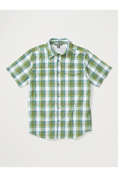 Men's Estacado Short-Sleeve Shirt, Alpine Green, medium