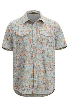Men's Estacado Short-Sleeve Shirt, Oyster Fishline, medium