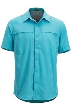 Men's Tellico Short-Sleeve Shirt, Maui, medium