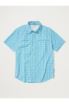 Men's Tellico Short-Sleeve Shirt, Blue Bell, medium