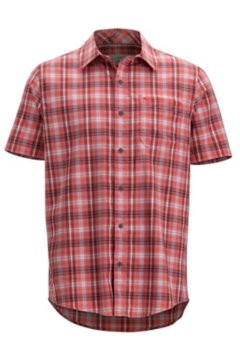 Keats SS Shirt, Spiced Coral, medium