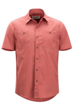 Gaillac SS Shirt, Retro Red, medium