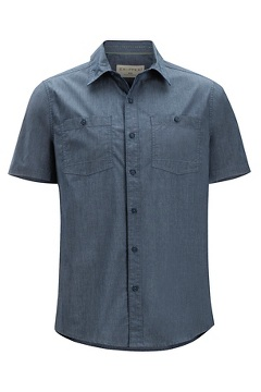 Gaillac SS Shirt, Navy, medium