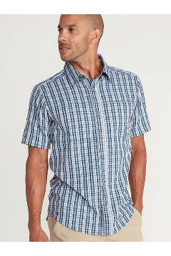 Men's Sailfish Short-Sleeve Shirt, Galaxy, medium
