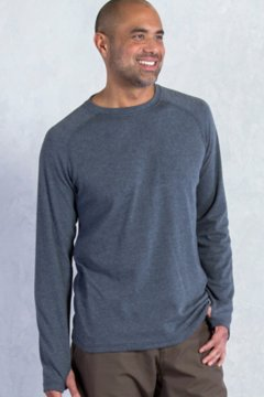 Javano Crew L/S, Black, medium