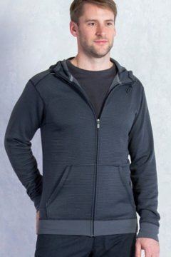 Isoclime Full Zip Hoody, Black, medium