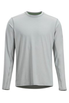 Sol Cool Sun Crew LS Shirt, Oyster, medium