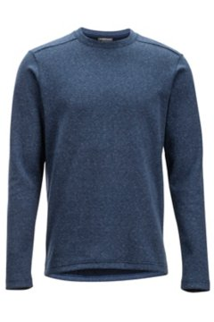 Powell Crew L/S, Navy Heather, medium