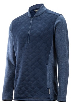 Harwood 1/4 Zip L/S, Navy, medium