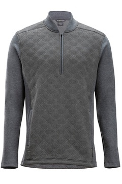 Harwood 1/4 Zip L/S, Grey Heather, medium