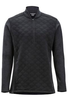 Harwood 1/4 Zip L/S, Black, medium