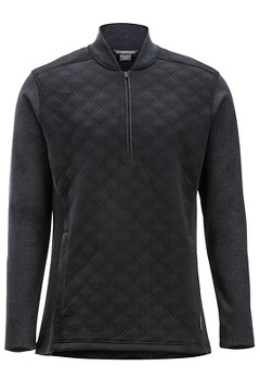 Harwood 1/4 Zip L/S, Black, medium