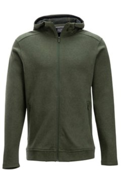 Powell Full-Zip Hoody, Nori Heather, medium