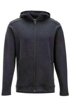 Powell Full-Zip Hoody, Black Heather, medium