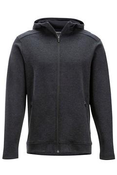 Powell Full-Zip Hoody, Black Heather, medium