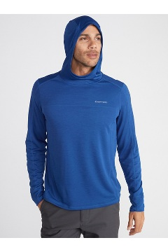Men's Solis UPF 50 Hoody, Sleet Heather, medium