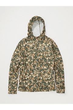 Men's Solis UPF 50 Hoody, Nori Catcher Camo, medium