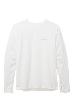 Men's Sol Cool Bayview UPF 50 Long-Sleeve Shirt, White, medium