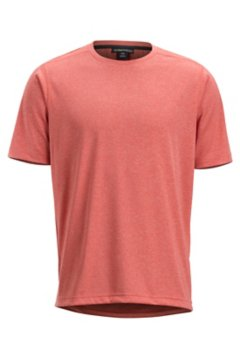 Sol Cool Signature Tee, Spiced Coral, medium