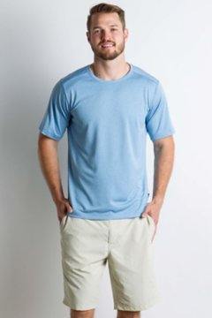 Sol Cool Signature Tee, Silverlake, medium