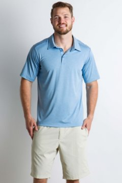 Sol Cool Signature Polo, Silverlake, medium