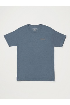 Men's Reel 'Em Short-Sleeve T-Shirt, Navy Heather, medium