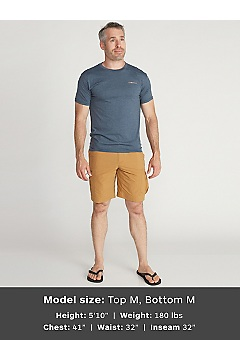Men's Reel 'Em Short-Sleeve T-Shirt, Carbon Heather, medium