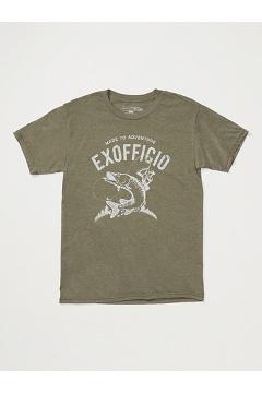 Men's Reel 'Em Short-Sleeve T-Shirt, Nori Heather, medium