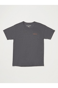Men's Reel 'Em Short-Sleeve T-Shirt, Carbon Heather, medium