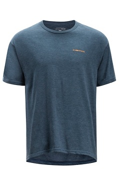 Excusion SS Tee, Navy Heather, medium
