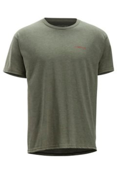 Excusion SS Tee, Olive Heather, medium