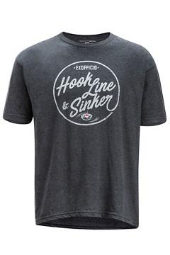 Hook Line and Sinker SS Tee, Charcoal Heather, medium