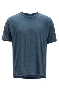 Fly Line Tee SS Tee, Navy Heather, medium
