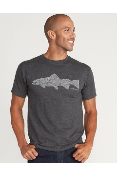 Men's Stamp Short-Sleeve T-Shirt, Charcoal Heather, medium