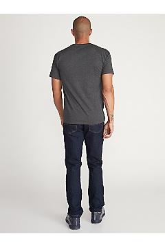 Men's Stamp Short-Sleeve T-Shirt, Charcoal Heather, medium