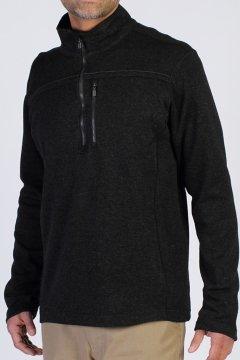 Caminetto 1/4 Zip, Black, medium
