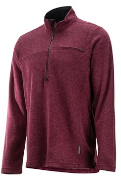 Caminetto 1/4 Zip Neck L/S, Baroque Heather, medium