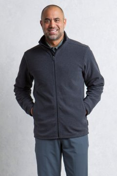 Vergio Full Zip, Black, medium