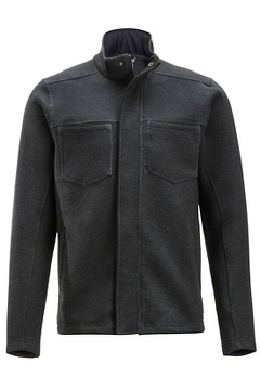 Tofano Full Zip, Black Heather, medium