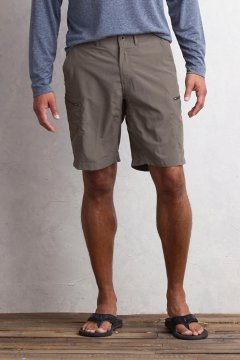 Sol Cool Camino Short 8.5'', Cigar, medium