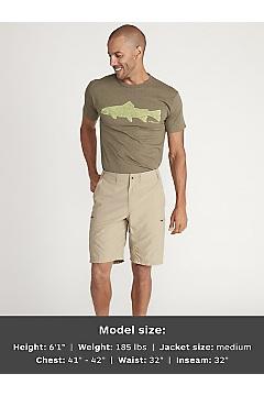 Men's Sol Cool 10'' Camino Shorts, Tawny, medium