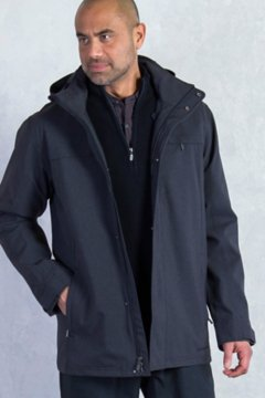 Leshan Jacket, Black, medium