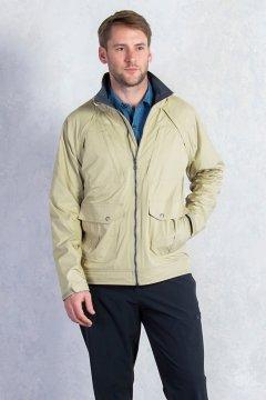 FlyQ Convertible Jacket, Lt Khaki, medium