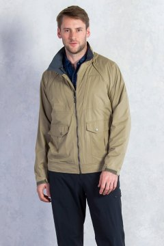 FlyQ Convertible Jacket, Walnut, medium